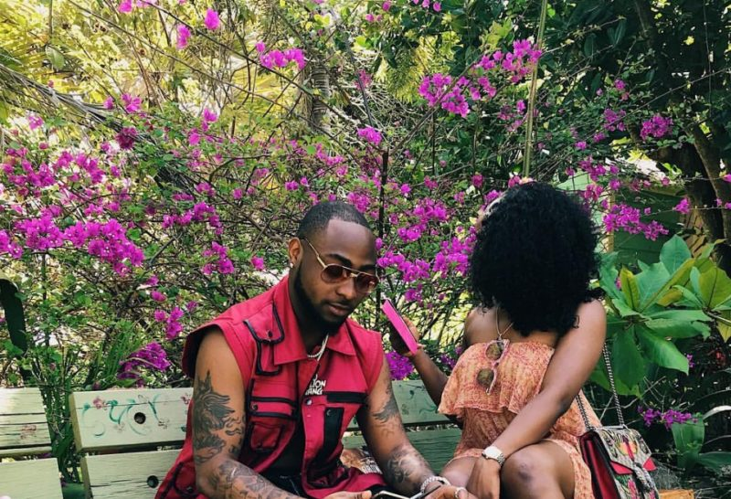 Davido and girlfriend chioma