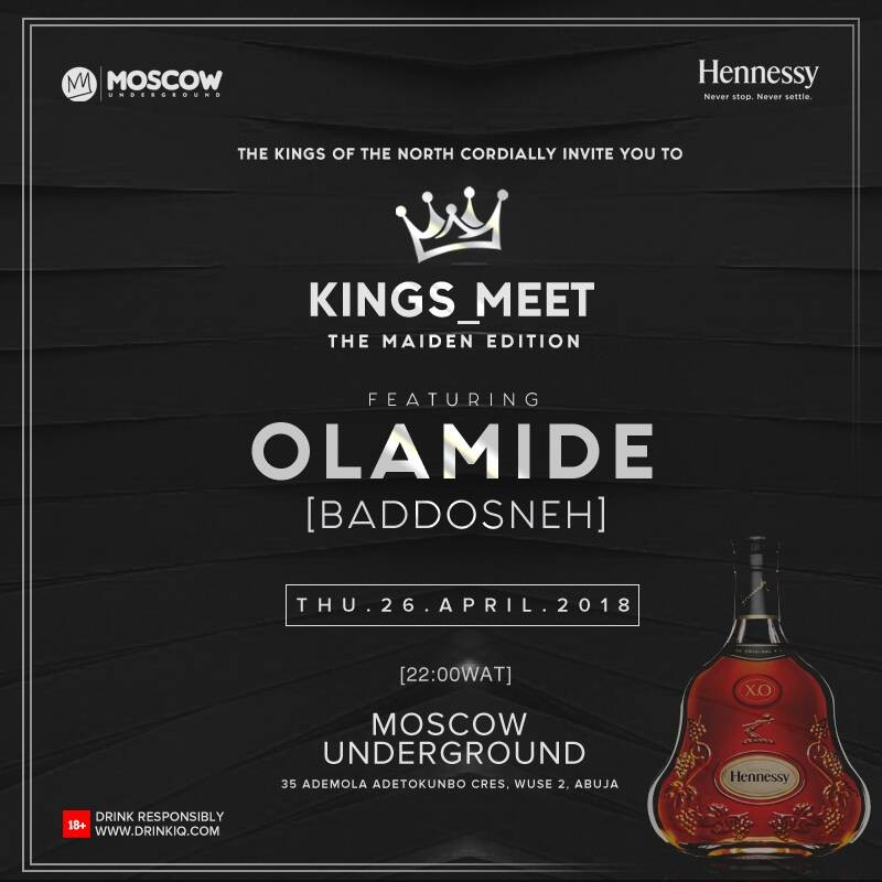 Olamide storms Moscow for 'Kings Meet'