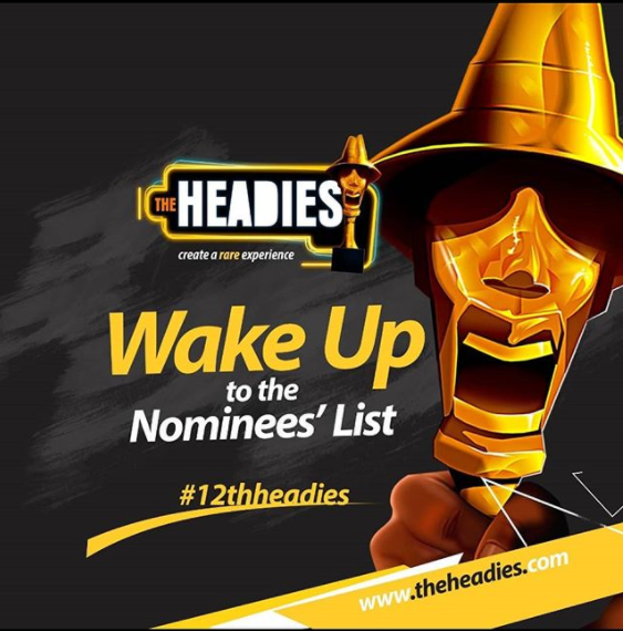 headies awards 2018 nominees list