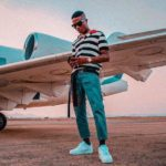 See stunning new photos of Wizkid posing with a Private Jet [Photo]