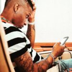 Wizkid All Smiles As He Relaxes With Fergie & Diddy