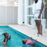 Timaya spending time with his kids (Photos)