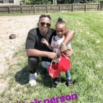 Nigerian rapper Olamide on a school run abroad with his son (Pictures)