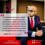 Good News: Banky W Becomes An Ambassador For Pink Oak Trust