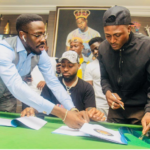 Davido signs Shaku Shaku Star Idowest to DMW