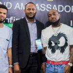Davido Now Infinix Smartphone Brand Ambassador