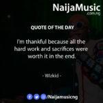 #NaijaMusicQuoteoftheDay