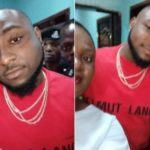 Davido Visits Roadside Eatery In Ibadan To Enjoy Amala And Ewedu (Photos)