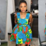 Chidinma Looks Beautiful In Ankara Oufit (photos)