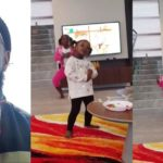 Timaya's daughters teaches him how to dance 'Shaku Shaku' (Video)
