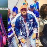 Fans Respond As Davido's Girlfriend, Chioma Steps Out In Braless Outfit (Photo)