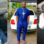 Don Jazzy poses in front of his Bentley, Efe, Khloe, Mr. P, others responded