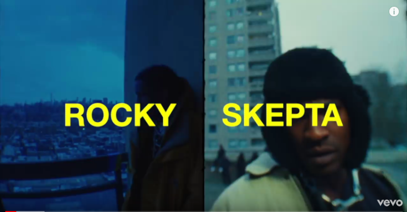 A$AP Rocky ft. Skepta - Praise the Lord (Da Shine)