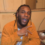 Burna Boy Receives Plaque For Selling Out O2 Academy Brixton