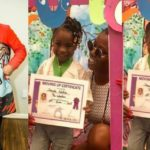 BREAKING!!! Davido Absent As His Daughter, Imade, Graduates From Kindergarten (Photos)