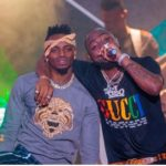 Diamond Platnumz Performed with Davido At Davido's 30billion Concert In Tanzania [PHOTOS]