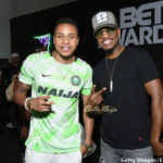 HOT!!! #BETAwards: Rotimi is repping Naija All the Way at Pre-BET Event 🇳🇬