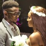 Trending video of Kizz Daniel and Seyi Shay cuddling and kissing on set