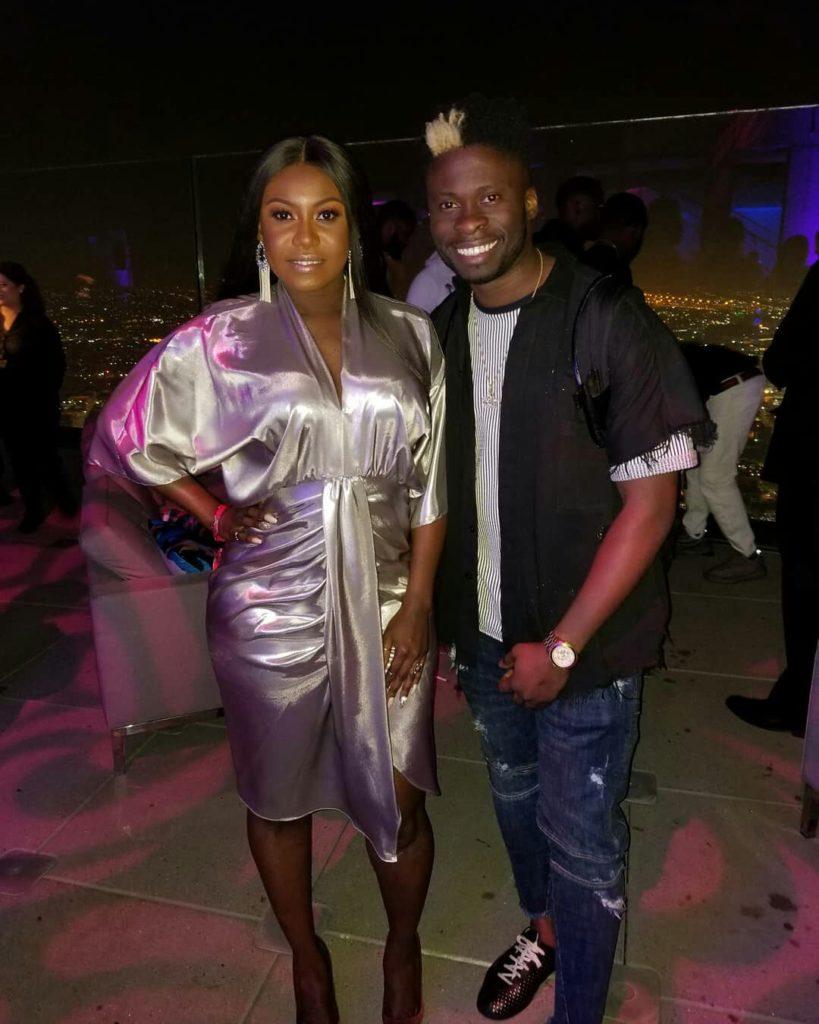 Niniola & Davido attend Pre-BET Events in Los Angeles
