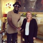 """Peter """"Mr P"""" Okoye meets with the President of Malta as he commences Europe tour"""
