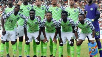 Super Eagles players