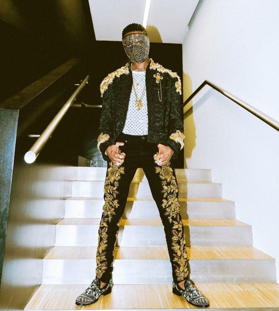 TRENDING!!! Wizkid & Naomi Campbell Walk For Dolce