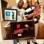 Davido Show Off Plaque With His Family (Watch)