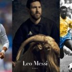 EXCLUSIVE!!! Is Lionel Messi the G.O.A.T? FC Barcelona striker poses with a goat as he covers PAPER Magazine's first sport issue
