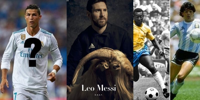 EXCLUSIVE!!! Is Lionel Messi the G.O.A.T? Striker poses with a goat as he covers PAPER Magazine's first sport issue