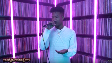 Nasty C Freestyle on Westwood Crib Session