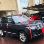 BREAKING!!! Peter Okoye Gifts Wife Lola Brand New Ranger Rover