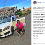 GOOD NEWS!! Skiibii Acquires A New Mercedes After He Was Accused Of Scam