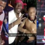 SHOCKING!!! Starboy and Shatta Wale party together after their compromise at Ghana Meets Naija Show