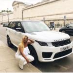 Billionaire Femi Otedola Gifts DJ Cuppy New Range Rover