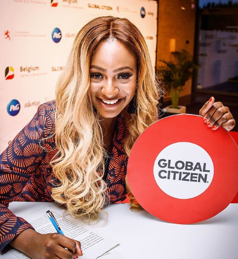 DJ Cuppy ambassador Education Ambassador