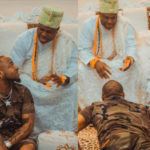 HOT!!! Davido Visits Ooni Of Ife