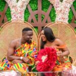Sarkodie Ties Knot With Girlfriend Tracy In Private Wedding Ceremony [Photos]