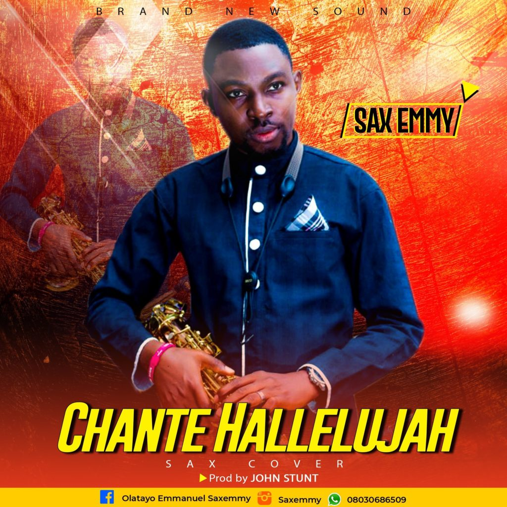 Saxemmy - Chante Hallelujah (Sax Cover)