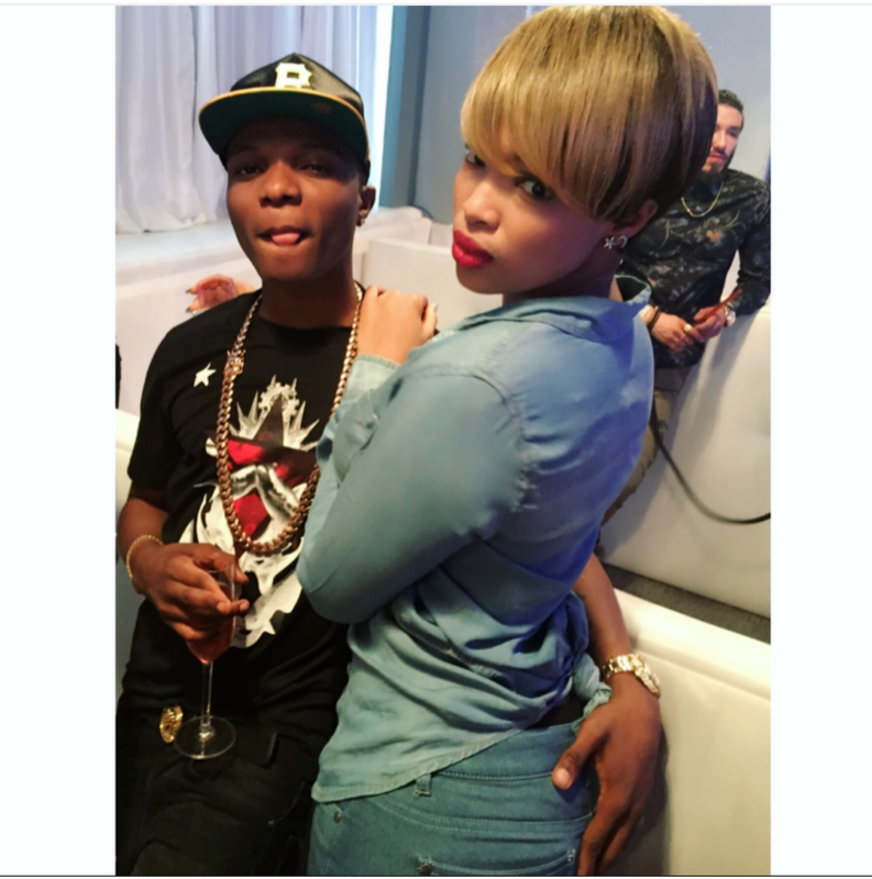 Image result for wizkid and 2nd baby mama