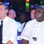 #CelebrateAfricanCulture: Photos From Emmanuel Macron's Visit To The New Afrika Shrine