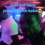 Tiwa Savage Estranged Husband Teebillz Hits Strip Club For Relaxation