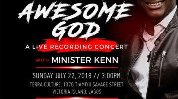 "Plan to Attend ""Awesome God"" Live DVD Recording Concert"