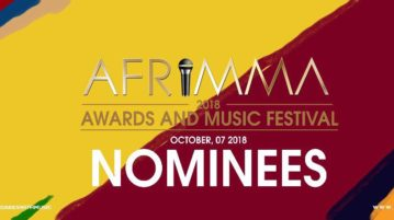 2018  Afrimma Awards & Music Festival nominees