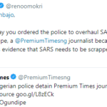 """SARS Needs To Be Scrapped And Not Overhauled"" – Reno Omokri"