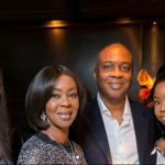 Beautiful Photos Of Senate President Bukola Saraki With His wife And Daughters