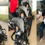 """God Bless The Day I Found You"" – FFK Tells Wife, Precious, Sharing Adorable Photos Of Her With Their Triplets"