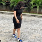 Toke Makinwa Claps Back At A Follower Who Said She Used Photoshop