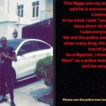 Lagos Policeman Vows To Kill Man That Drugged Him While Trying To Extort Him