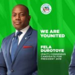 Fela Durotoye Emerge As Consensus Candidate At The PACT Meeting