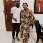 First Lady Of Ghana Plays Host To Mr Eazi